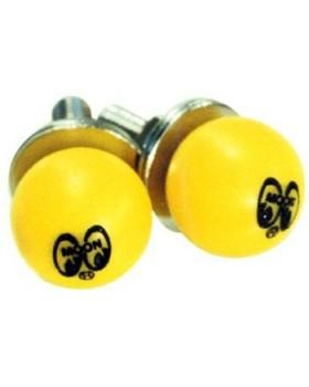 Болты крепления номеров MOONEYES ™ Yellow Moon Ball