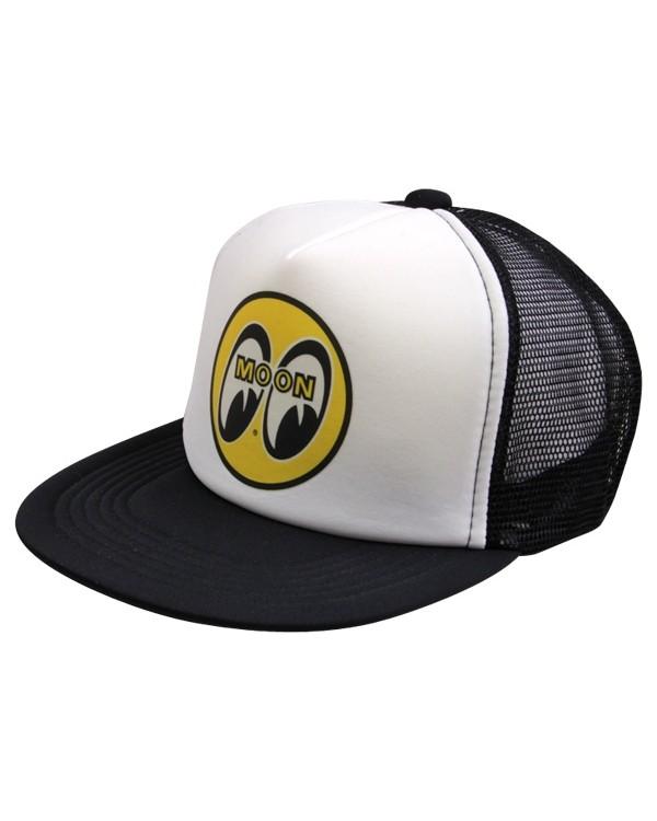 Бейсболка MOONEYES ™ Trucker черно-белая