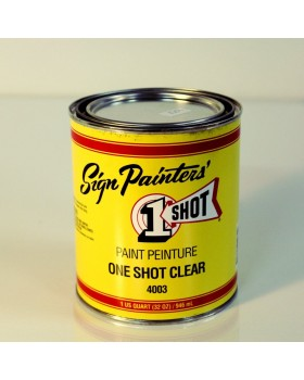 1-Shot ®️ Очиститель/Обезжириватель (CLEAR) 4003