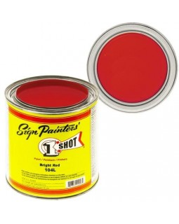 1-Shot ®️ Краска цвет 104 Bright Red