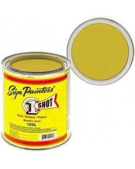 1-Shot ®️ Краска цвет 109 Metallic Gold