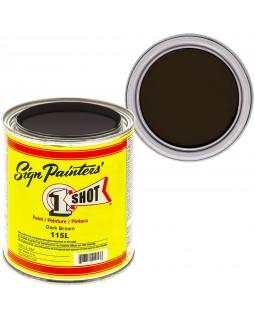 1-Shot ®️ Краска цвет 115 Dark Brown