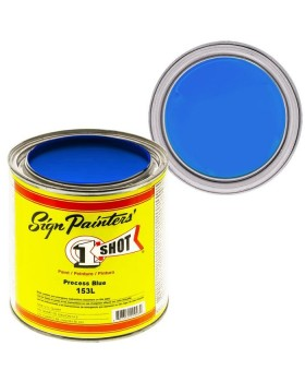 1-Shot ®️ Краска цвет 153 Process Blue