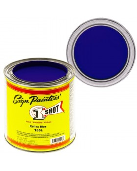 1-Shot ®️ Краска цвет 155 Reflex Blue