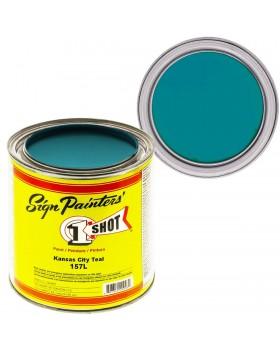 1-Shot ®️ Краска цвет 157 Kansas City Teal