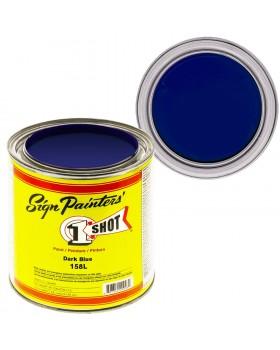 1-Shot ®️ Краска цвет 158 Dark Blue