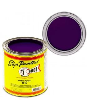 1-Shot ®️ Краска цвет 161 Proper Purple