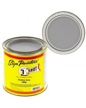 1-Shot ®️ Краска цвет 195 Medium Gray