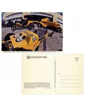 Открытка USA MOON™ Garage