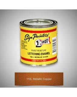 1-Shot ®️ Краска цвет 110 Metallic Copper (Медь)