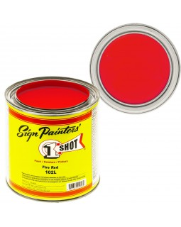 1-Shot ®️ Краска цвет 102 Fire Red