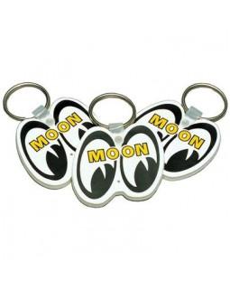 MOON ™ лого брелок на ключи - белый