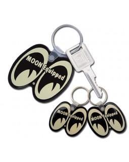 MOONEYES ™ лого брелок на ключи - черный