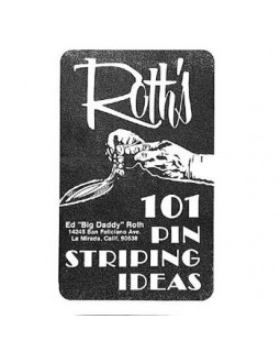 Книга гайд Roth's 101 Pinstriping Ideas