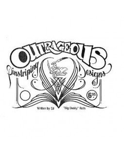Книга Outrageous Pinstriping Designs Book