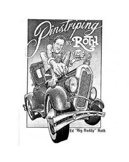 Книга гайд Pinstriping by Roth