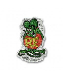 RAT FINK®️ Стикер Crazy Metal Flake Decal