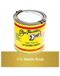 1-Shot ®️ Краска цвет 111 Metallic Brass (Латунь)