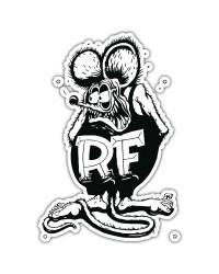Стикеры и патчи RAT FINK®️